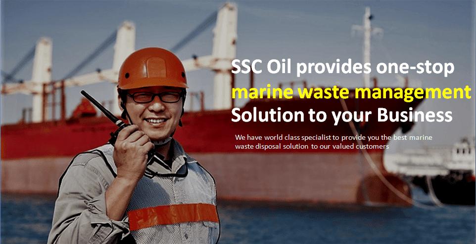marine waste management solution