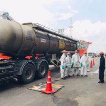 กำจัดกรดด่างปนเปื้อน acid disposal